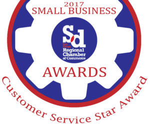 Customer Service Star Award recipient
